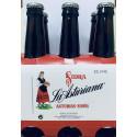 Sidra espumosa La Asturiana, pack 24 botellas x 25 cls con alcohol